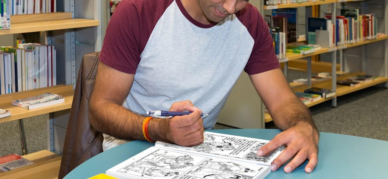 Comic Workshop in der Stadtbibliothek