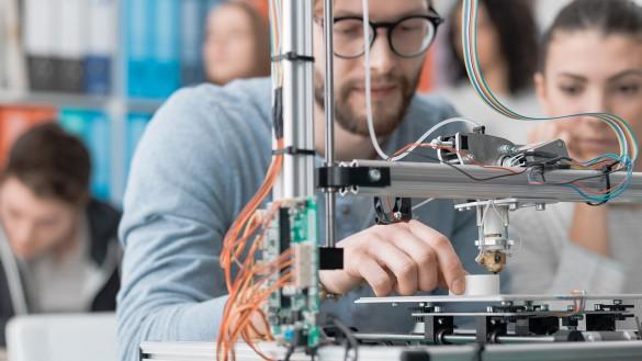 Ein 3D-Drucker für die Stadtbibliothek